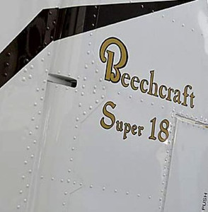 "The aircraft was designated as a ""Super 18"" model. This variant of the Beech Model 18 aircraft allowed an increased maximum takeoff weight of 9,700 lbs. Beech Aircraft Corporation built 155 G18S's."