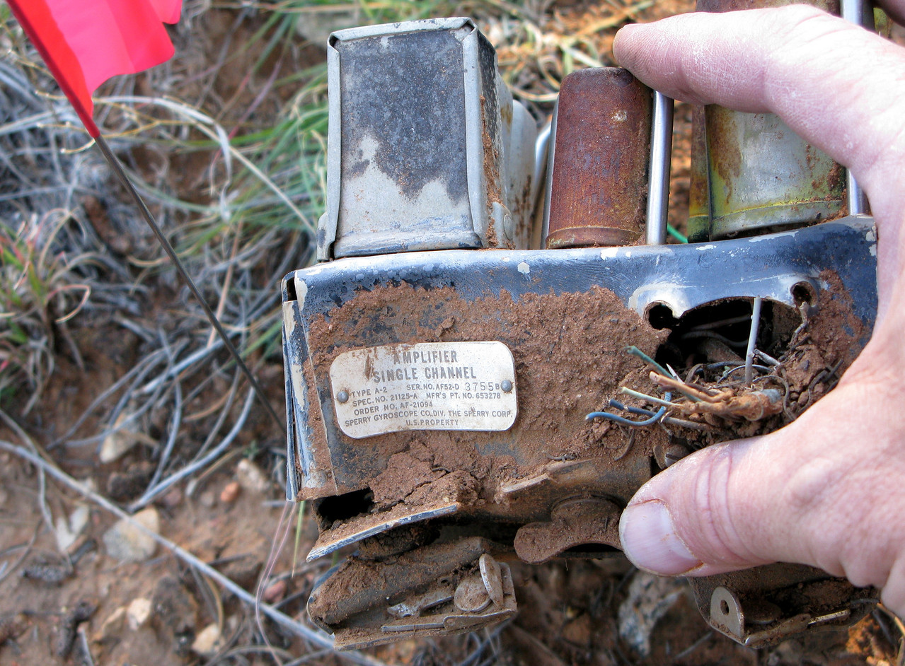 An identification placard helps to identify the component.
