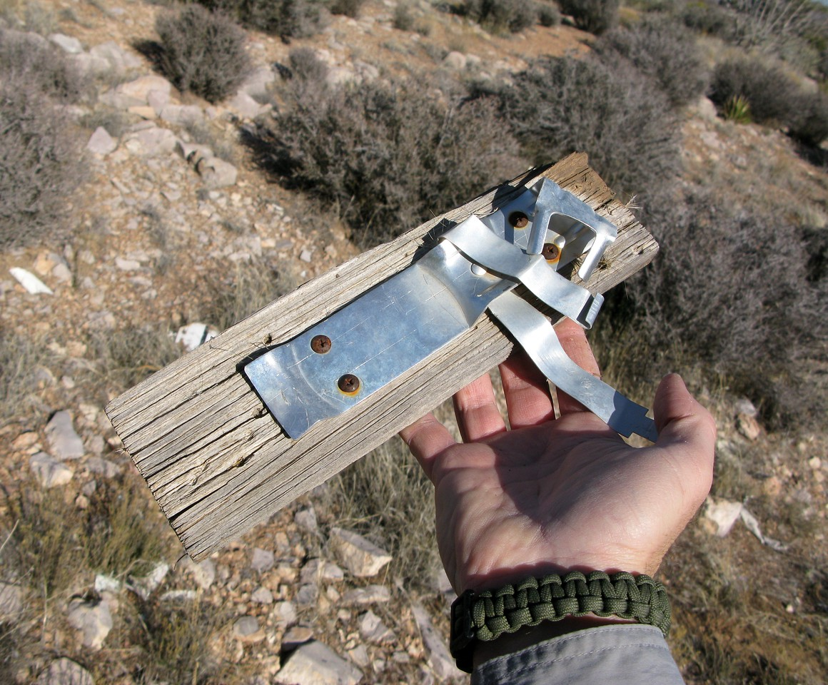 The older Piper aircraft cabins contained some components made of wood, such as this mount to hold the aircraft's portable fire extinguisher. <br /> <br /> An unfortunate and preventable accident in which man and machine faced weather elements that were beyond their capacity to handle safely.<br /> <br /> THE END