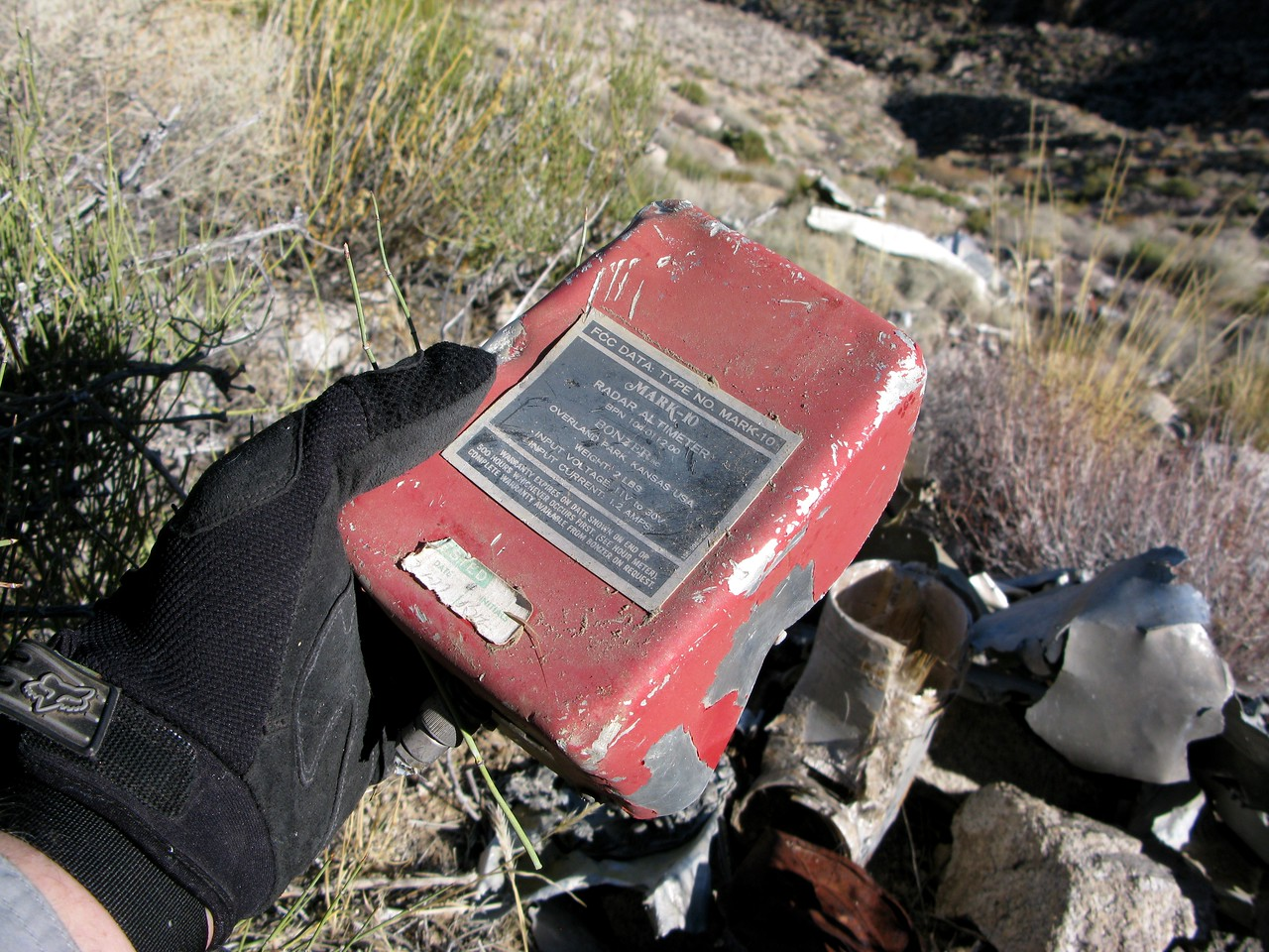 Other components of the Bonzer Mark 10 Radar Altimeter System included the system processor unit.
