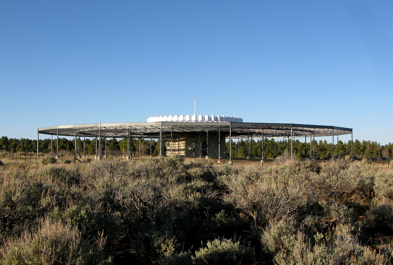 The Grand Canyon VHF Omnidirectional Range (VOR) Station is positioned 1,680 feet west of the runway centerline. The aircraft crashed about 1,300 feet northwest of this VOR Station and less than a 1/2 mile from the airport's control tower. <br /> <br /> The aircraft remained hidden in the trees and heavy foliage until a passing aircraft spotted the wreckage four days later.