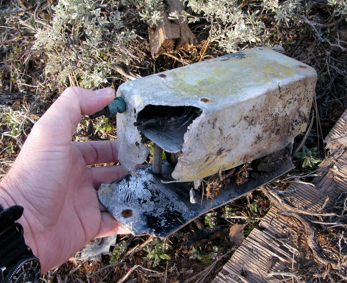 The aircraft's Emergency Locator Transmitter (ELT) was a burned out shell from the post crash fire. After the initial impact, it probably operated for a few short minutes, before it was finally deactivated by the fire.<br /> <br /> The loss of an emergency signal from the ELT  slowed Search and Rescue responders from locating the wreck.