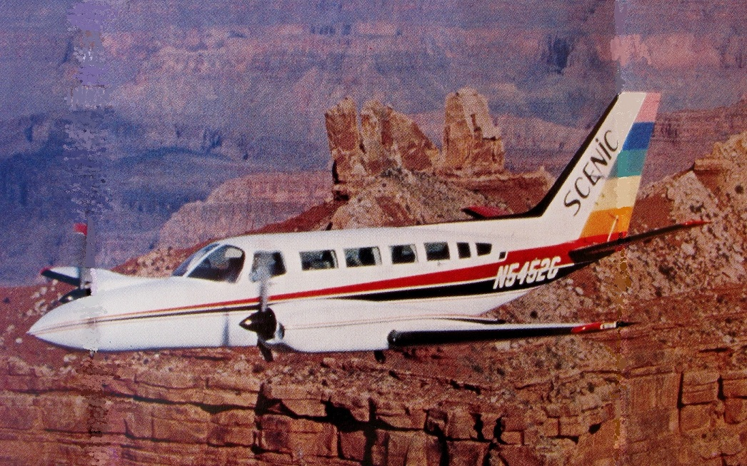 AIRCRAFT INVOLVED<br /> <br /> The Cessna 404 Titan Ambassador was a development of the Cessna 402 with an enlarged vertical tail and other changes. The prototype first flew on February 26, 1975. It was powered by two 375 hp turbocharged GTSIO-520 engines manufactured by Continental Motors. <br /> <br /> It was Cessna's largest twin piston-engined aircraft. In production between 1976 and 1982, a total of 378 Titans were built.