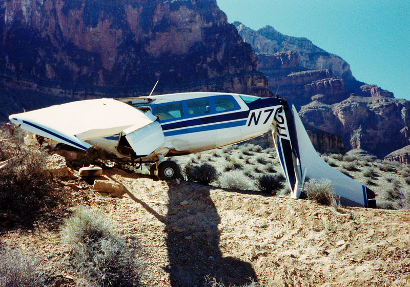 October 10, 1989:<br /> <br /> This airplane, a Cessna T207A (N7602U) was flying a scenic tour with two passengers when there was a loss of engine power. The pilot switched fuel tanks to the fullest tank and power was regained momentarily. Suddenly the engine stopped and the aircraft glided to a hard, but survivable crash landing.<br /> <br /> An internal examination of the engine by the NTSB revealed that the engine crankshaft had sheared.
