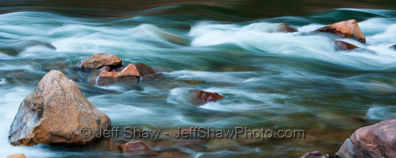 North Canyon Rapid. Colorado River, Grand Canyon.    Sized for 8x20""