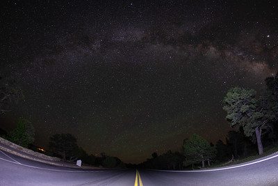 Milky Way from the South Rim of the Grand Canyon