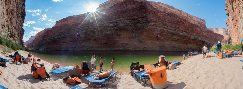 Around Mile 27 Camp site, Colorado River. Grand Canyon.
