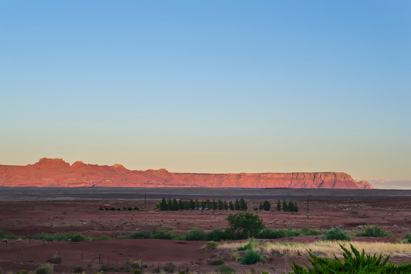 View from Cliff Dwellers, Marble Canyon Arizona