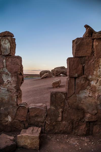Cliff Dwellers, Stone House, Marble Canyon AZ.