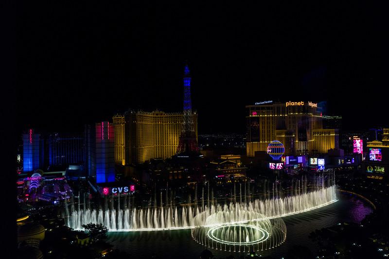 Las Vegas to start with!