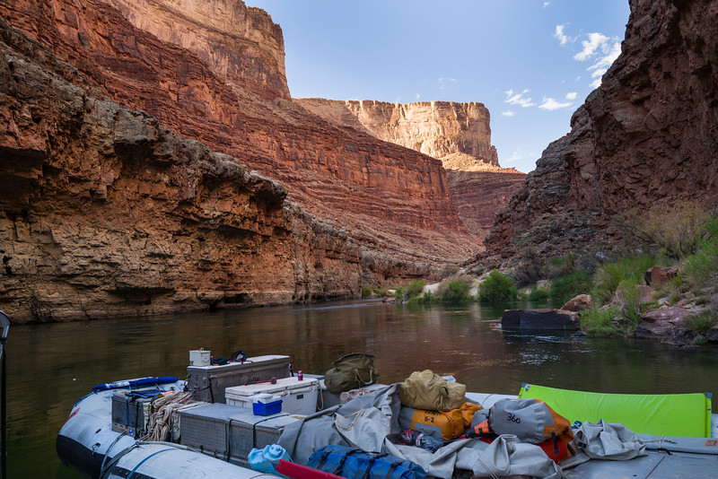 Our home for 7 days...Hatch raft Expedition.
