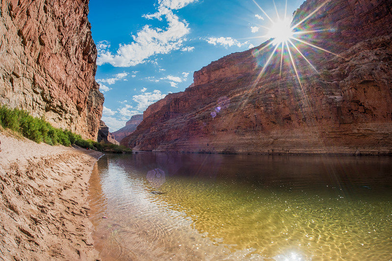 The Mighty Colorado River near mile 27.