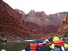 We boarded our raft in Lee's Ferry, AZ and floated deep into the canyon on the Colorado River.
