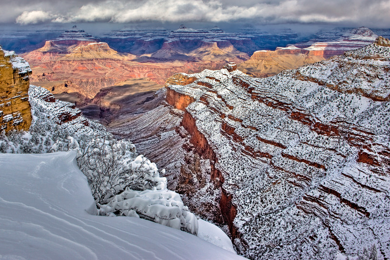 """Grand Canyon in Winter"""
