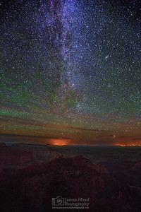 """Ancient Vista,"" Grand Canyon Milky Way, Grand Canyon National Park, Arizona"