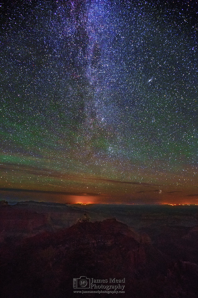 """Cosmic Vista,"" Grand Canyon National Park, Arizona"