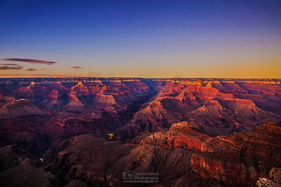"""Zoroaster's Transition,"" Nautical Sunset over the Grand Canyon, Grand Canyon National Park, Arizona"