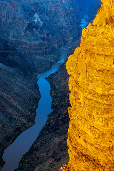 """Colorado River Gorge at Toroweap"""