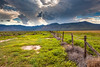 """Storm Clouds over Ranchland"""