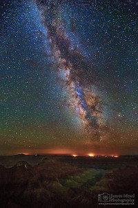 """Restless,"" The Milky Way over the North Rim, Grand Canyon National Park, Arizona"