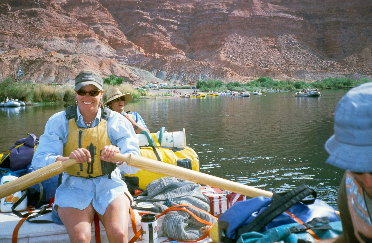 Departure from Lee's Ferry and proceeding through Marble Canyon.