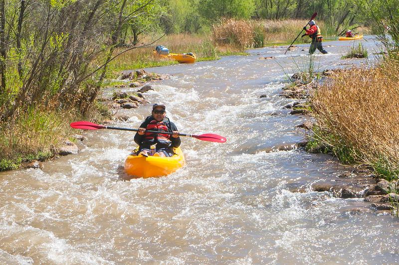 Verde River Institute Float Trip, Tapco to Tuzi, 4/17/18
