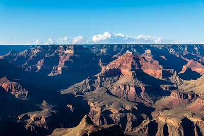 Hermits Rest to Powell Point, Grand Canyon South Rim, 2017