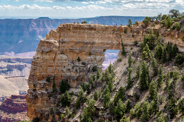 Angels Window, Cape Royal, Grand Canyon North Rim, 2017