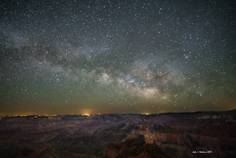 Milky Way Over Point Imperial at the North Rim