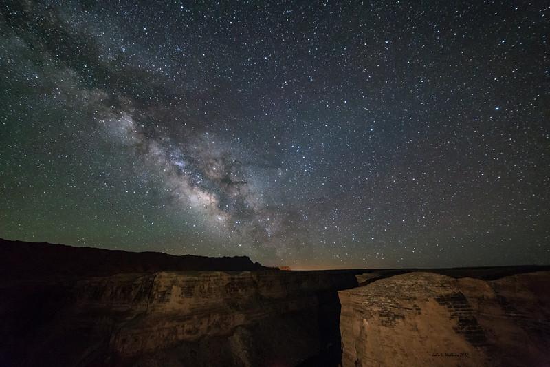 Milky Way Over Badger Creek