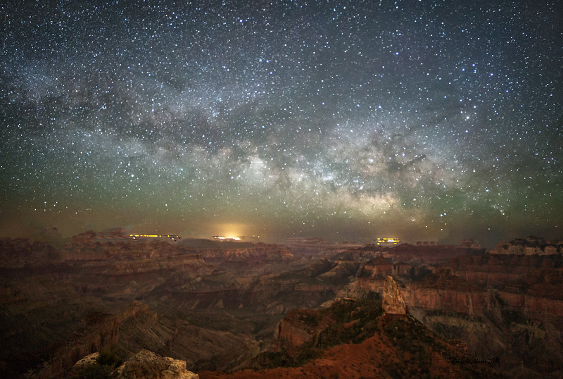 Milky Way Over Point Imperial