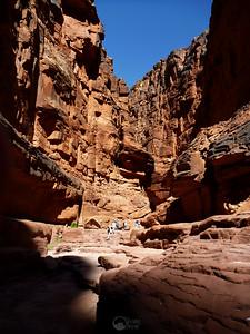 Rider Canyon at mile 17.1.  AKA House Rock Canyon.