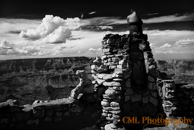 Desert View Watchtower chimney