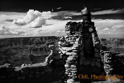 Desert View Watchtower chimney