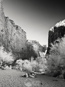 I believe this is looking upriver from Nautiloid Canyon (infrared)