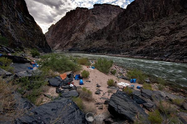 Camp at Zoroaster.