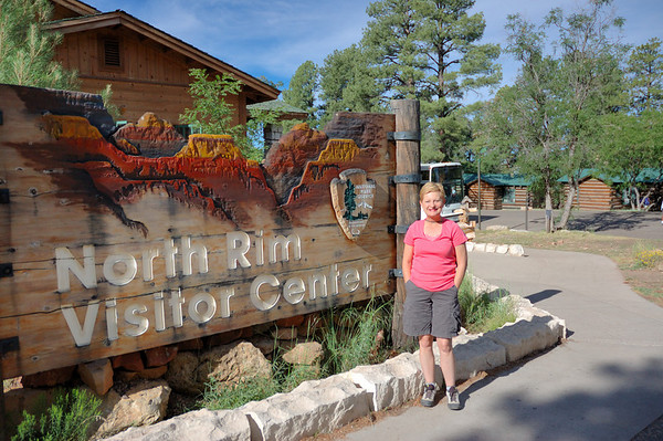Grand Canyon Lodge and Transept Trail