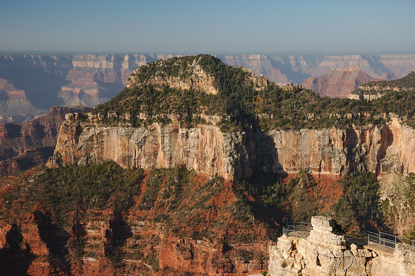 Grand Canyon N.Rim Transept and Cape Final Trail, Lodge & Kaibab Squirrel 9-5-07