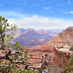 Grand Canyon National Park landscape.