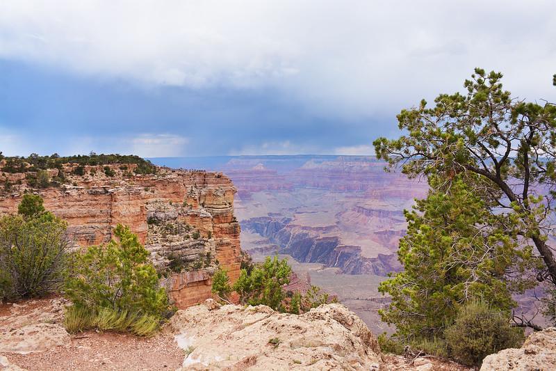 Beautiful view of mountain canyon.