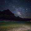 The Milky Way and river meet at Lava Chuar beach