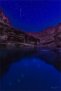 Big Dipper Reflection, Colorado River, Grand Canyon
