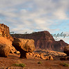 Balanced Rock at sunrise near Marble Canyon on Day 1