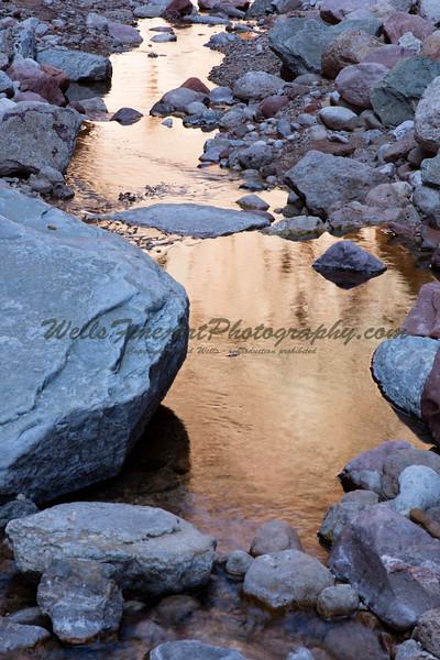 National Canyon reflections
