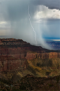 Downpour, Point Imperial, Grand Canyon
