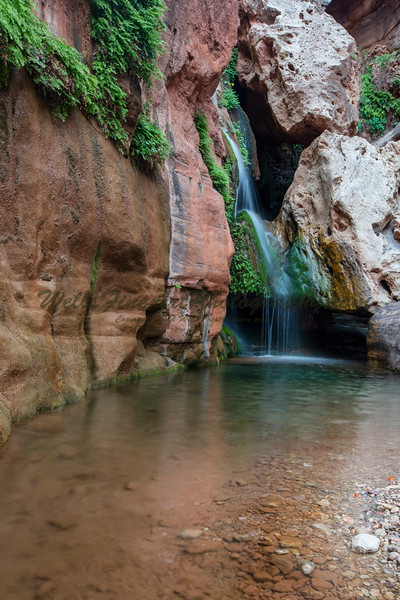 Eve's Chasm waterfall