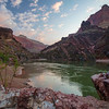 Sunrise from camp on the 5th day