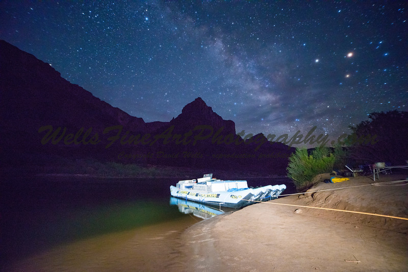 The raft and the Milky Way