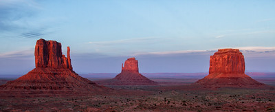 The Mittens at Monument Valley, Utah