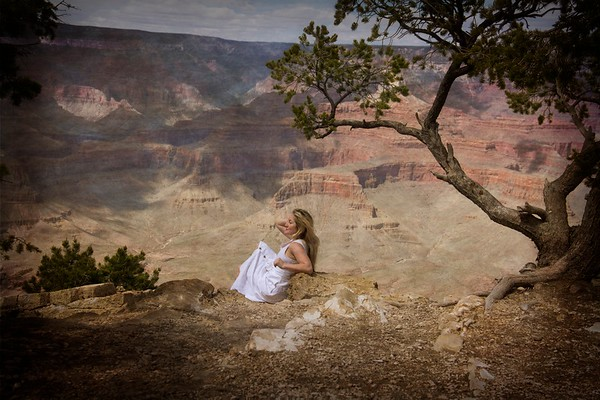Portrait at the Grand Canyon